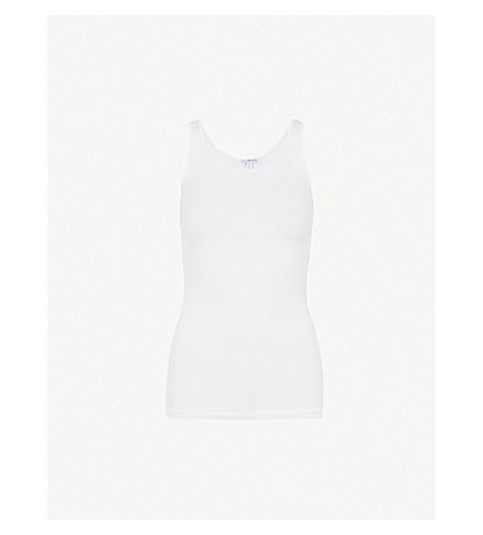 JAMES PERSE Slim-fit vest (White
