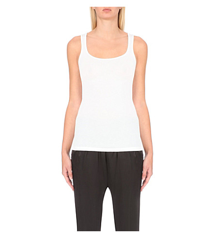 JAMES PERSE Slim-fit vest (White