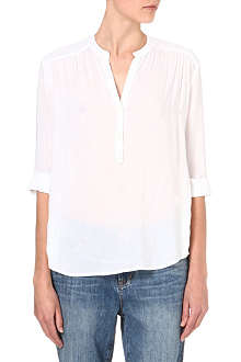 JAMES PERSE Henley smock shirt