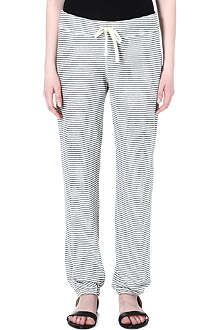 JAMES PERSE Striped jogging bottoms