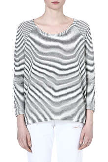 JAMES PERSE Striped top