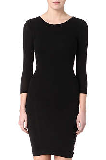 JAMES PERSE Boat-neck jersey dress