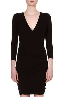 JAMES PERSE Wrap jersey dress