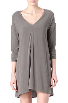 JAMES PERSE Dolman stretch-crepe dress