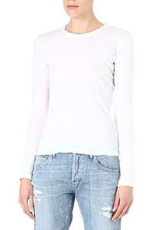 JAMES PERSE Crew-neck long-sleeved top