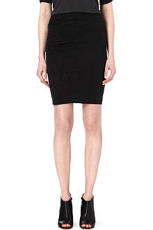 JAMES PERSE Twisted-hem mini skirt