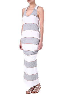 JAMES PERSE Coastal striped maxi dress