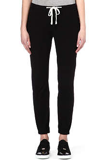 JAMES PERSE Relaxed jersey jogging bottoms