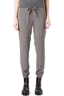 JAMES PERSE Crepe cargo trousers