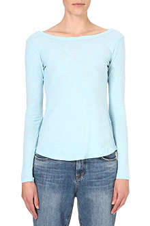 JAMES PERSE Ballet cotton top