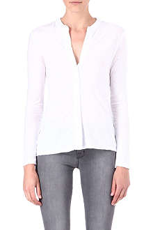 JAMES PERSE Button-up long-sleeved top