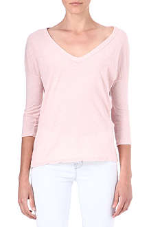 JAMES PERSE Relaxed v-neck t-shirt