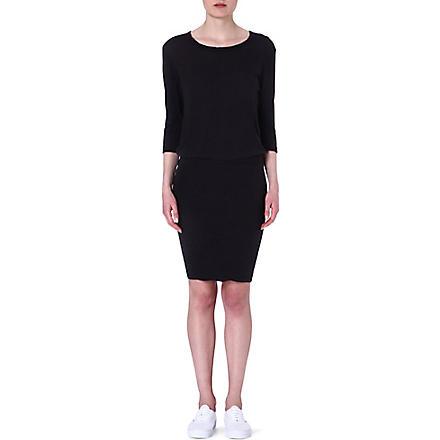 JAMES PERSE Blouson jersey dress (Carbon