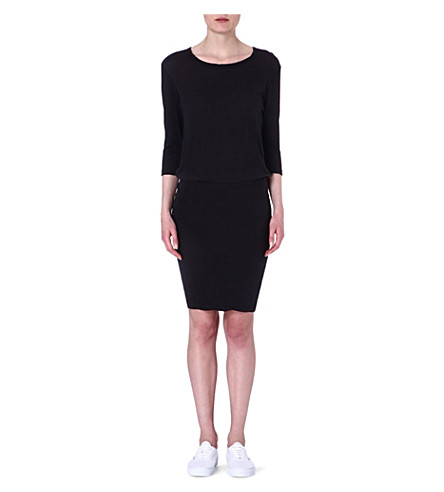 JAMES PERSE Blouson jersey dress (Carbon