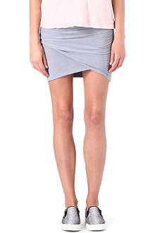 JAMES PERSE Wrap-front skirt