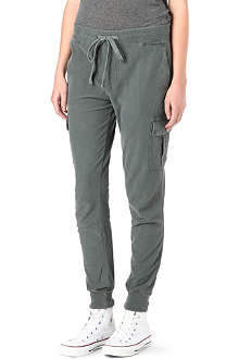 JAMES PERSE Twill cargo trousers
