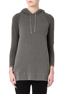 JAMES PERSE Colour-blocked cotton hoody