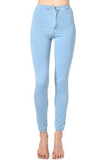 AMERICAN APPAREL Easy skinny high-rise jeans