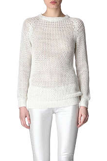 EACH X OTHER Open-knit metallic jumper
