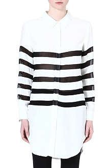 EACH X OTHER Stripe shirt dress