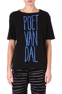EACH X OTHER Poet Van Dal printed t-shirt