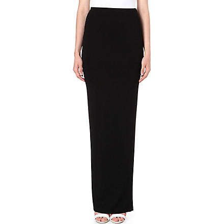 TTYA Split maxi skirt (Black