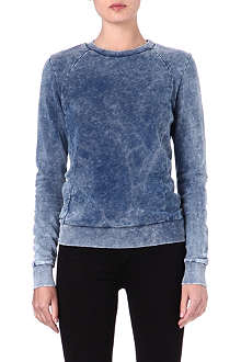 COTTON CITIZEN Acid-washed sweatshirt