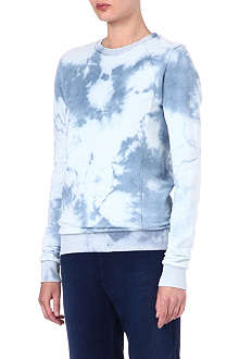 COTTON CITIZEN Tie-dyed sweatshirt