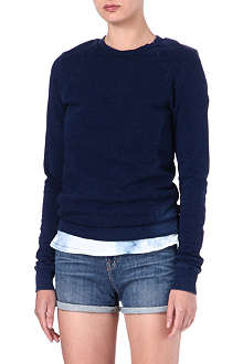 COTTON CITIZEN Denim-effect jumper