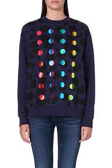 ETRE CECILE Cheetah boyfriend sweatshirt