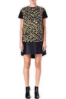 ETRE CECILE Diamond-print oversized t-shirt