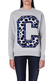 ETRE CECILE Monogram print sweatshirt