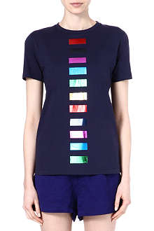 ETRE CECILE Foil-detailed t-shirt