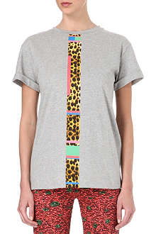 CECILE Cheetah stripe t-shirt