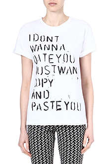ETRE CECILE Don't Wanna Date t-shirt