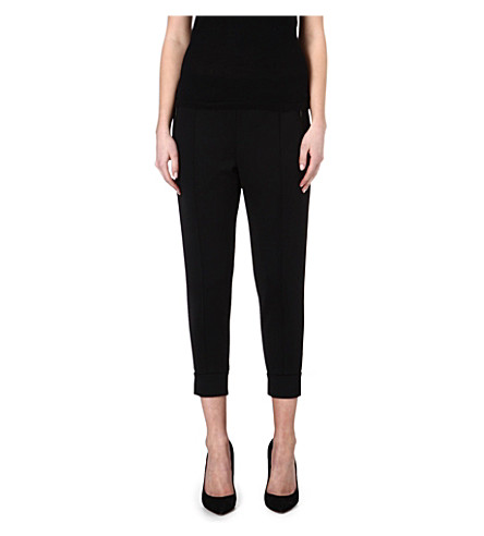 ETRE CECILE Jersey jogging trousers (Black