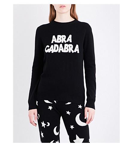 CHINTI AND PARKER Abracadabra cashmere jumper (Black/cream