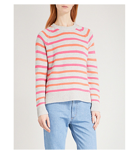 CHINTI AND PARKER Breton cashmere jumper (Orange