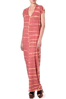 RAQUEL ALLEGRA Tie-dyed maxi dress