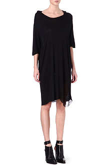 RAQUEL ALLEGRA Shredded t-shirt dress