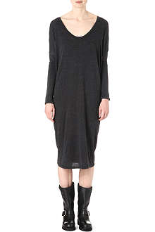 RAQUEL ALLEGRA Long-sleeved jersey dress