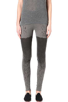 RAQUEL ALLEGRA Tie-dye leggings