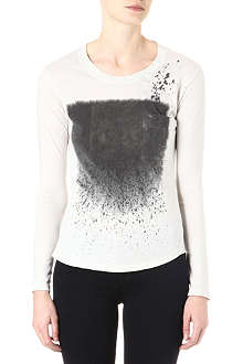 RAQUEL ALLEGRA Stardust long-sleeved top