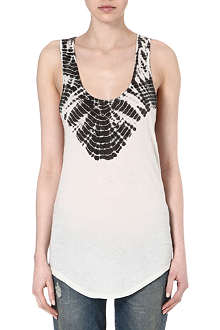 RAQUEL ALLEGRA Printed vest top