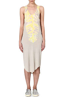 RAQUEL ALLEGRA Tie-dye jersey dress