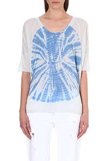 RAQUEL ALLEGRA Tie-dye jersey t-shirt