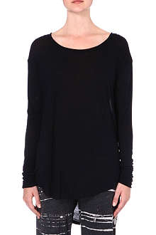 RAQUEL ALLEGRA Long-sleeved jersey top