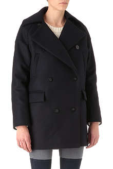 SURFACE TO AIR Maple wool-blend coat