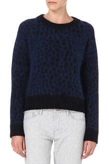 SURFACE TO AIR Astro angora-blend jumper