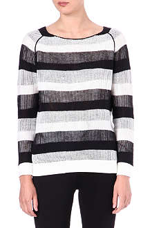 SURFACE TO AIR Mesh knit jumper